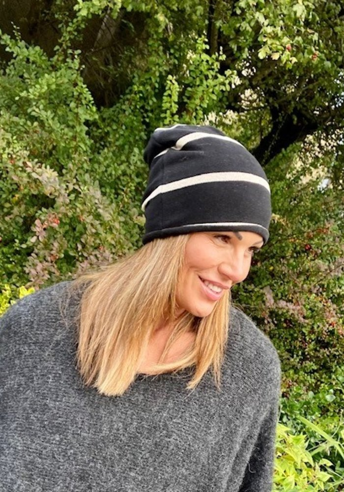 Mama B Kaki Reversible Hat
