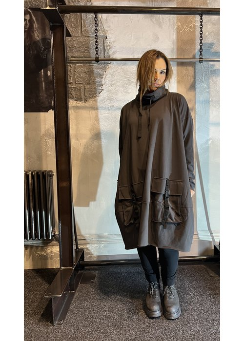 RUNDHOLZ BLACK LABEL Rundholz Sweat Pocket Dress
