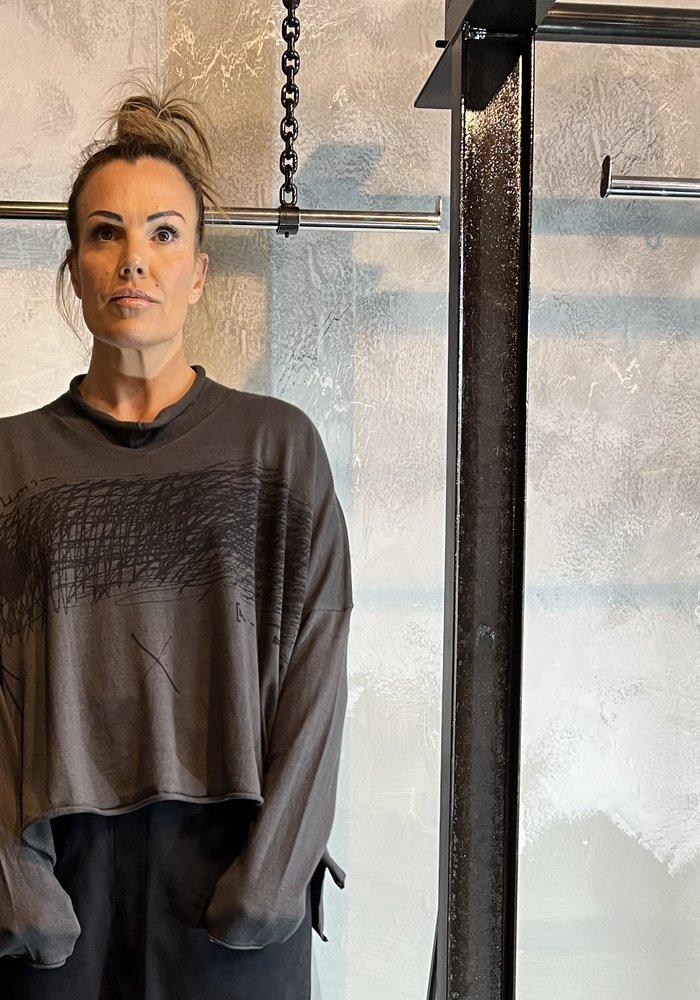 Rundholz Black Label Graffiti Knit Pullover