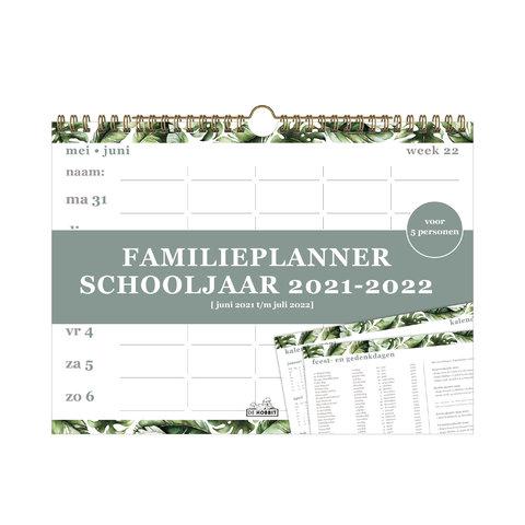 Familieplanner Spiraal D1 2021-2022