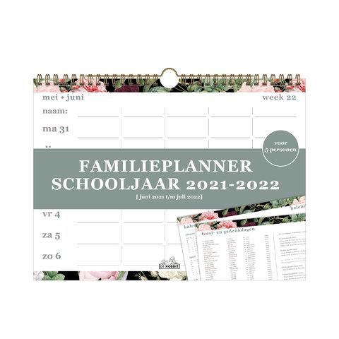 Familieplanner Spiraal D4 2021-2022