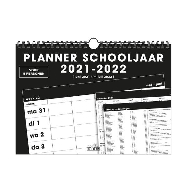 Familieplanner Spiraal D5 2021-2022