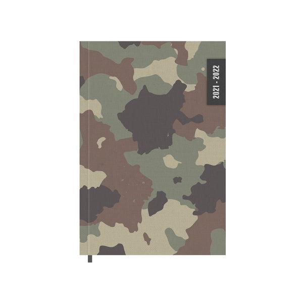 Schoolagenda Basic Army 2021-2022