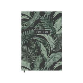 Schoolagenda Basic Palm Groen 2021-2022