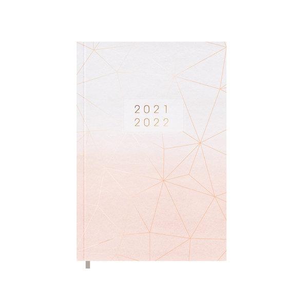 Schoolagenda Basic Blush 2021-2022