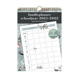 Familieplanner Spiraal D2 2021-2022