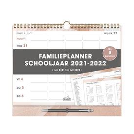 Familieplanner Spiraal D3 2021-2022