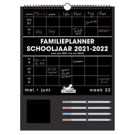 Familieplanner Zwart D1 2021-2022