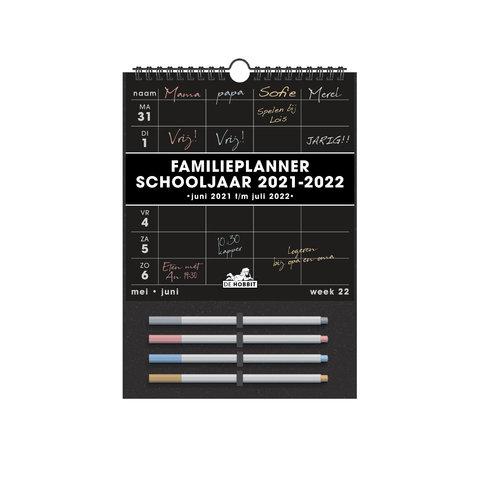 Familieplanner Zwart D2 2021-2022