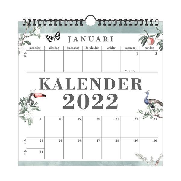 Jaarkalender Pauw 2022