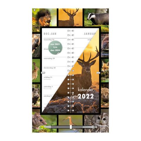 Omslagkalender Natuur 2022