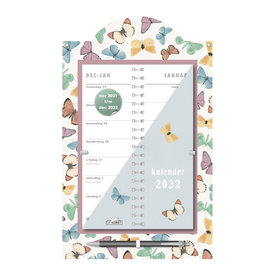 Omslagkalender Luxe Vlinders 2022