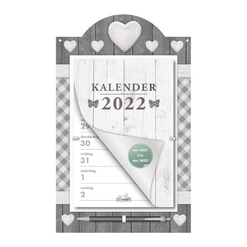 Weekscheurkalender Home 2022