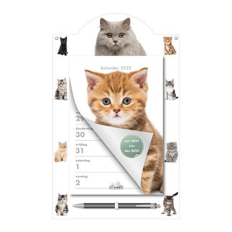 Weekscheurkalender Katten 2022
