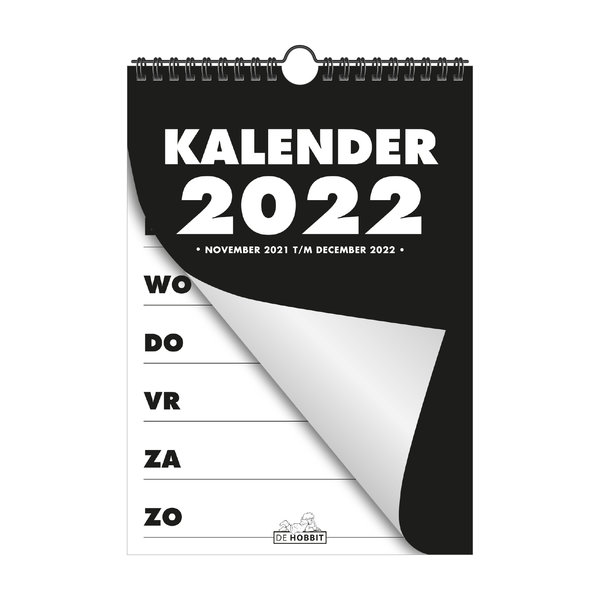 Spiraalkalender A4 D1 2022