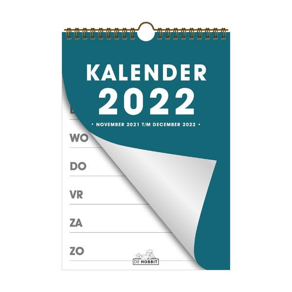Spiraalkalender A4 D2 2022