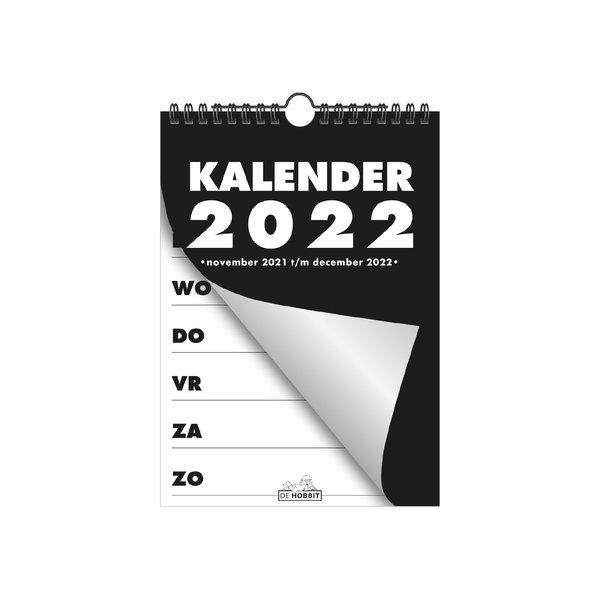 Spiraalkalender A5 D1 2022