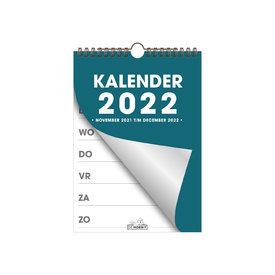 Spiraalkalender A5 D2 2022