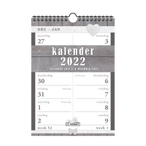 Spiraalkalender 2-weeks D1 2022