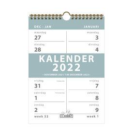 Spiraalkalender 2-weeks D2 2022