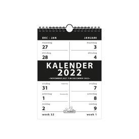 Spiraalkalender 2-weeks D4 2022
