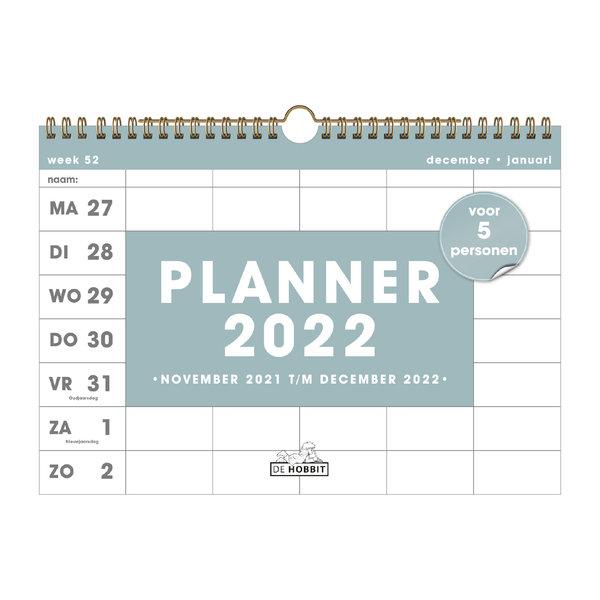 Familieplanner Spiraal D5 2022