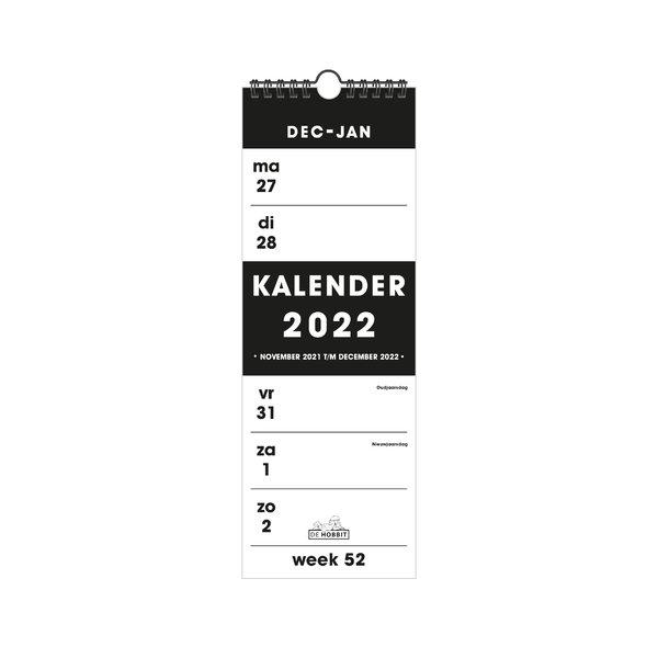 Weekkalender Smal D1 2022