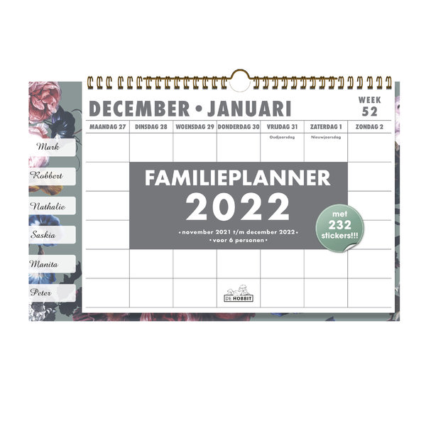 Familieplanner Omslag D3 2022