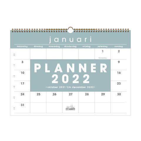 Maandplanner D5 2022