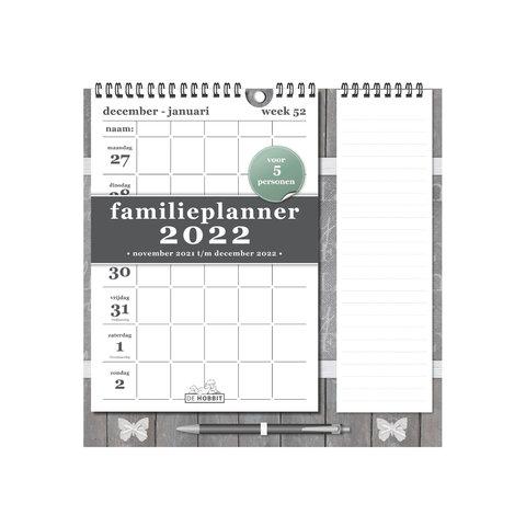 Familieplanner Memo Rechts D1 2022