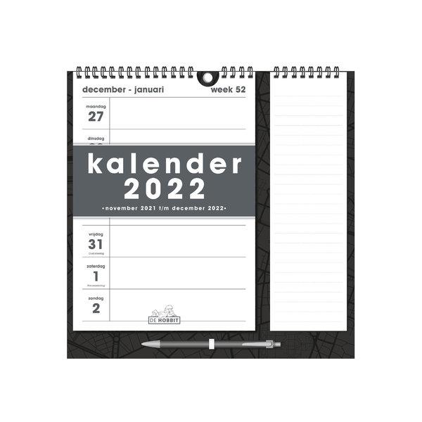 Weekkalender Memo Rechts D1 2022