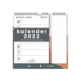 Weekkalender Memo Rechts D2 2022