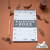 Spiraalkalender A4 D4 2022