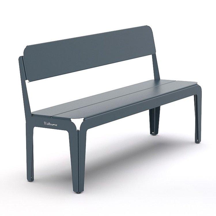 Weltevree Bended Bench with Backrest / Gebogen bank met rugleuning