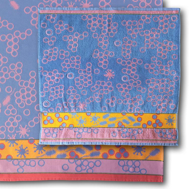 Mariëtte Wolbert Bella Salmonella - Handdoek 60 x 60 cm