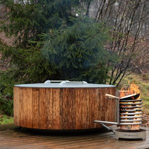 Weltevree Dutchtub Wood - Platowood bekleding