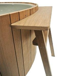 Weltevree Dutchtub Wood Sidetable