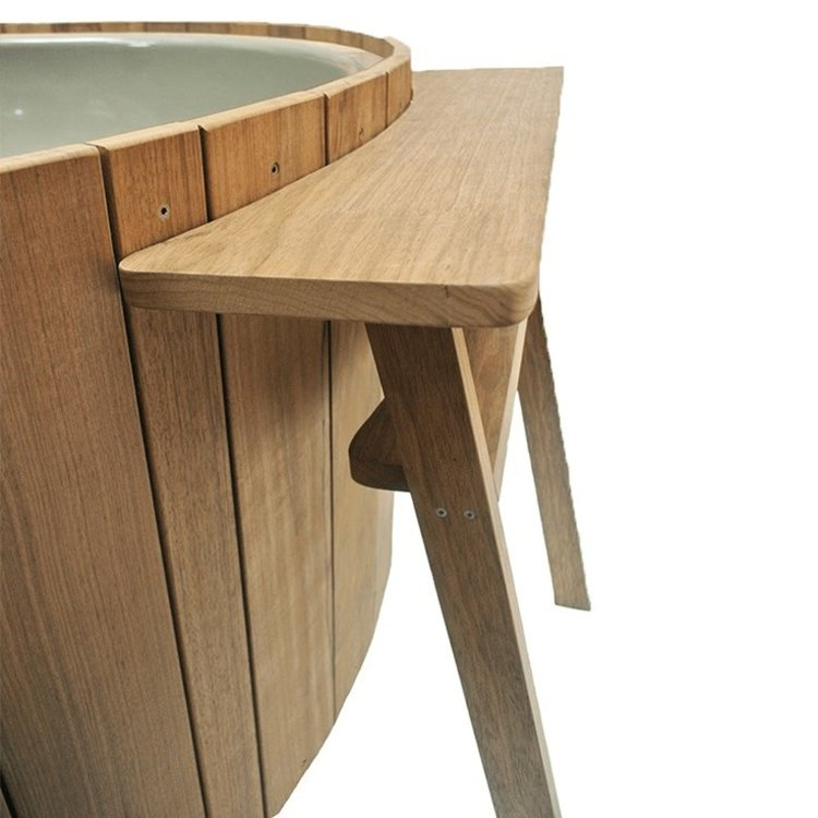 Weltevree Dutchtub Wood Tafel voor je drankje