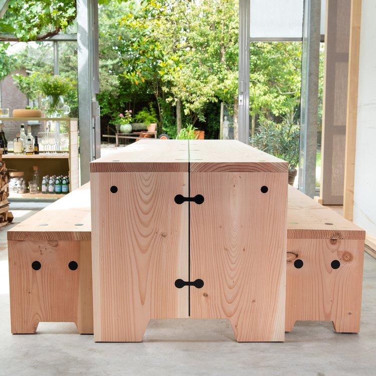Weltevree Foresty Table Refined - De verfijnde stoere uitvoering.