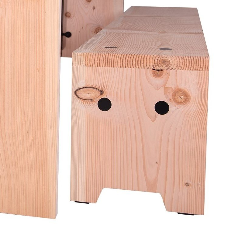 Weltevree Foresty Bench Refined - Bosbouw Bank (Verfijnd)