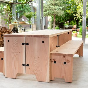 Weltevree Forestry Bench Refined