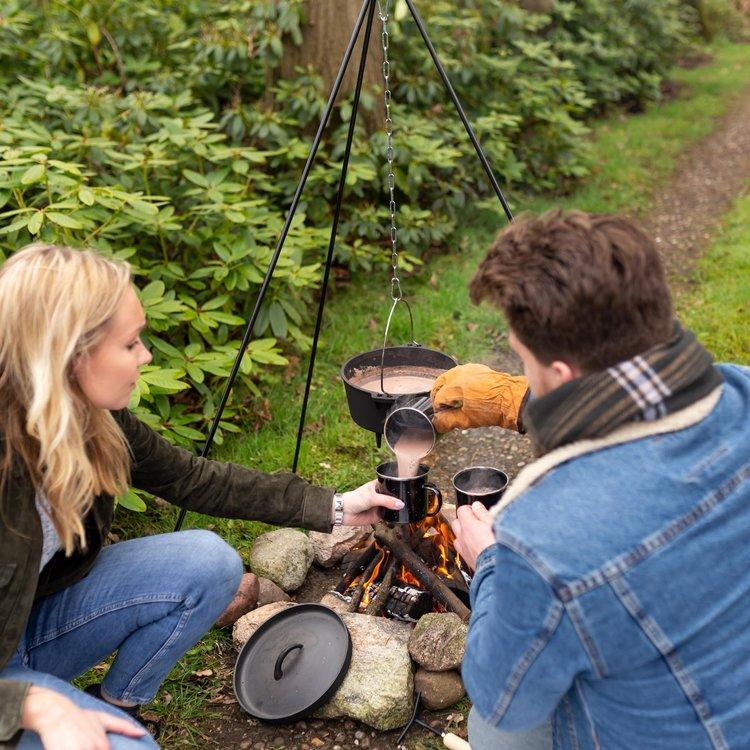 Bij Heldere Hemel Driepoot voor bijvoorbeeld je Dutch Oven