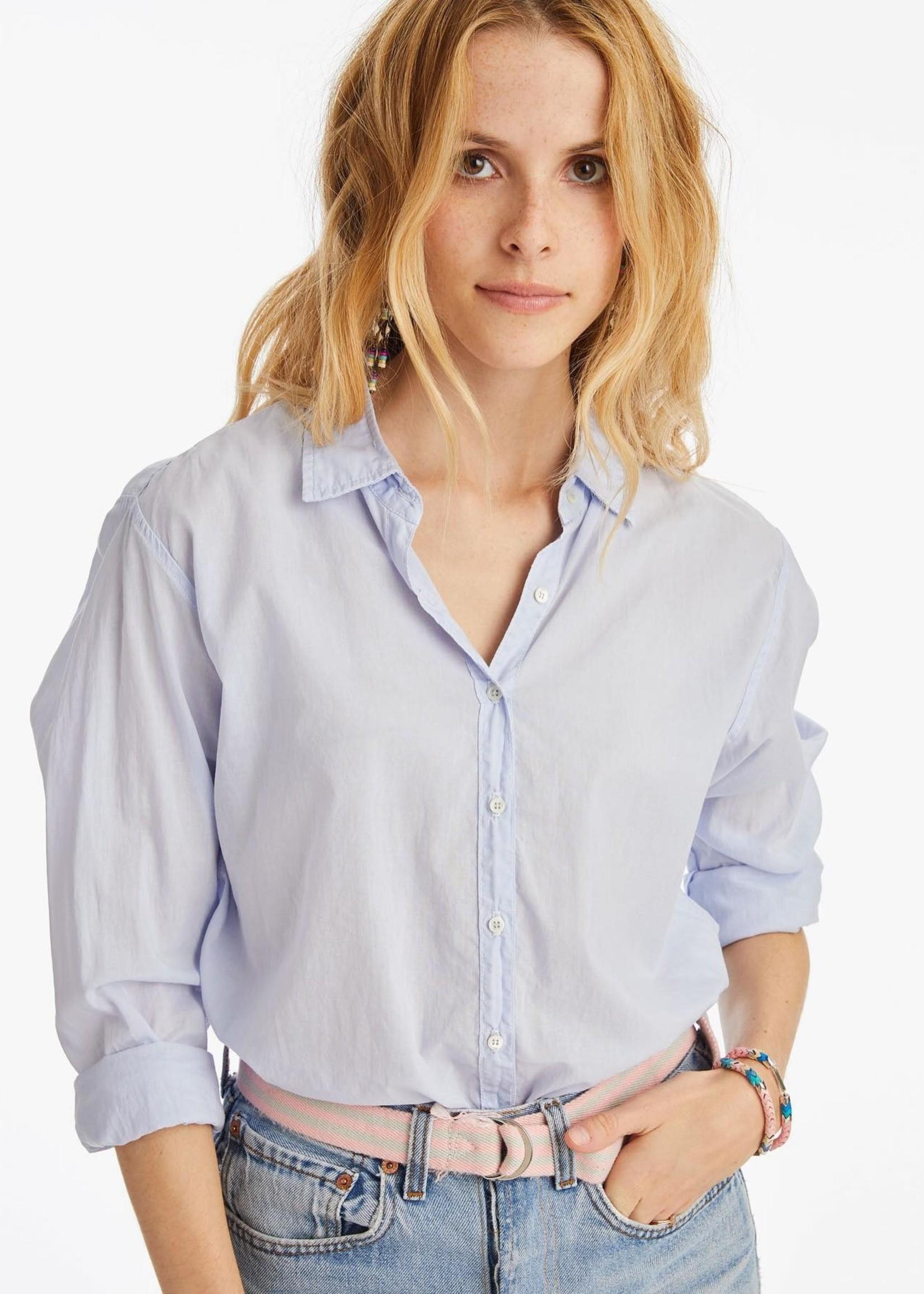 xirena xirena beau shirt sky light