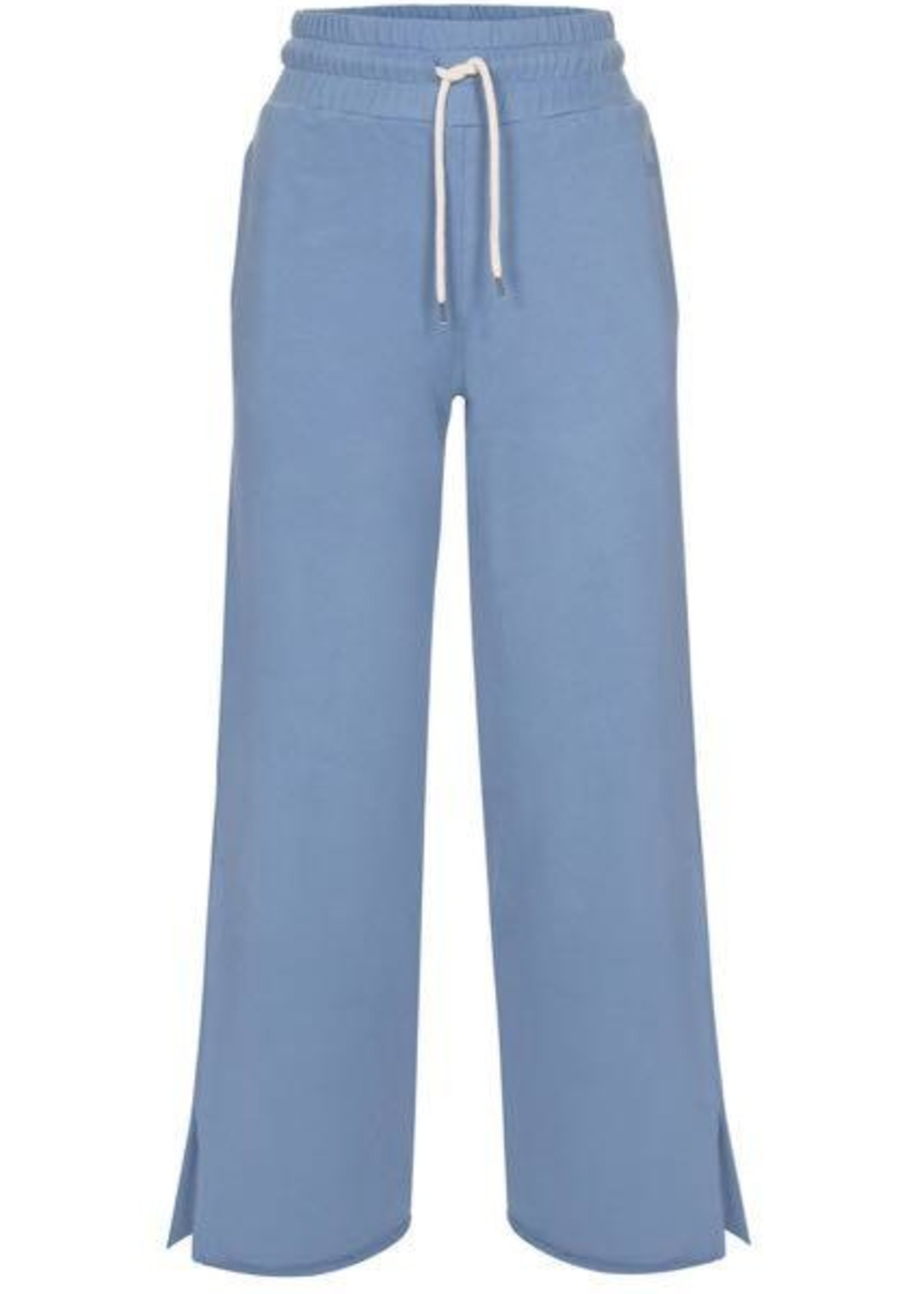 Ame ame antwerp sweat pants with side slits blue
