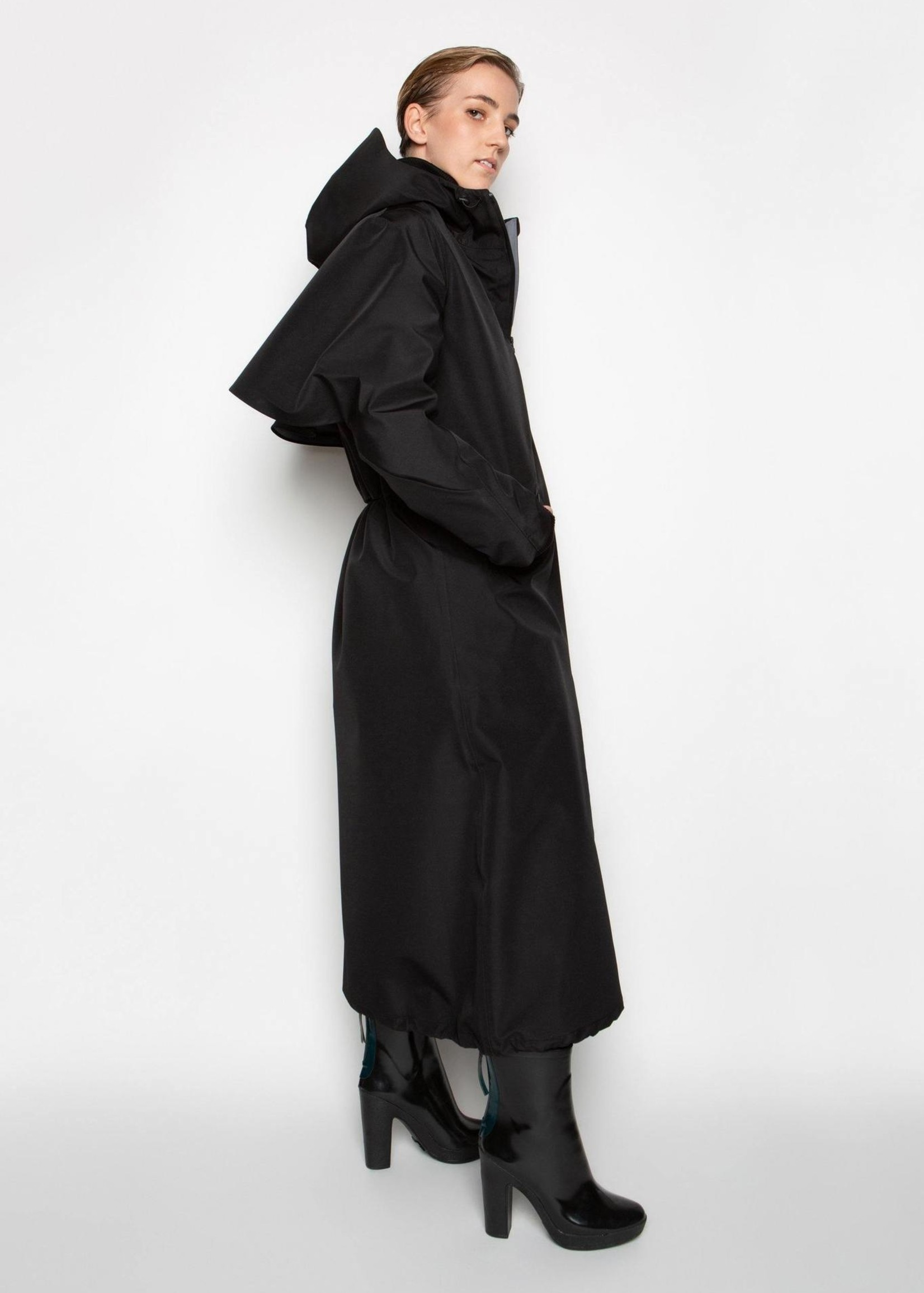 By Brown By brown spirit raincoat black S