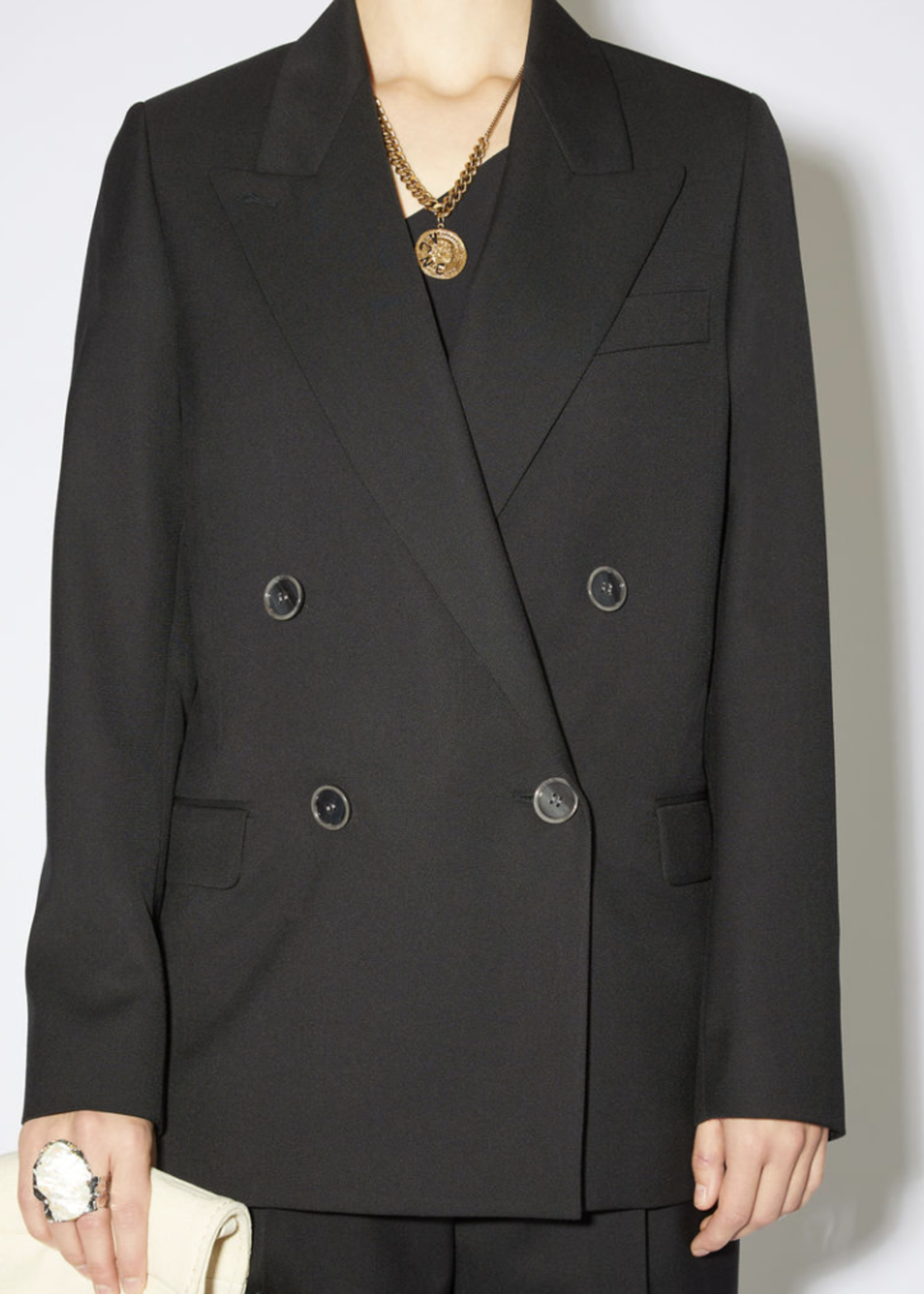 Acne Studios Acnestudios janny light summerwool blazer black36