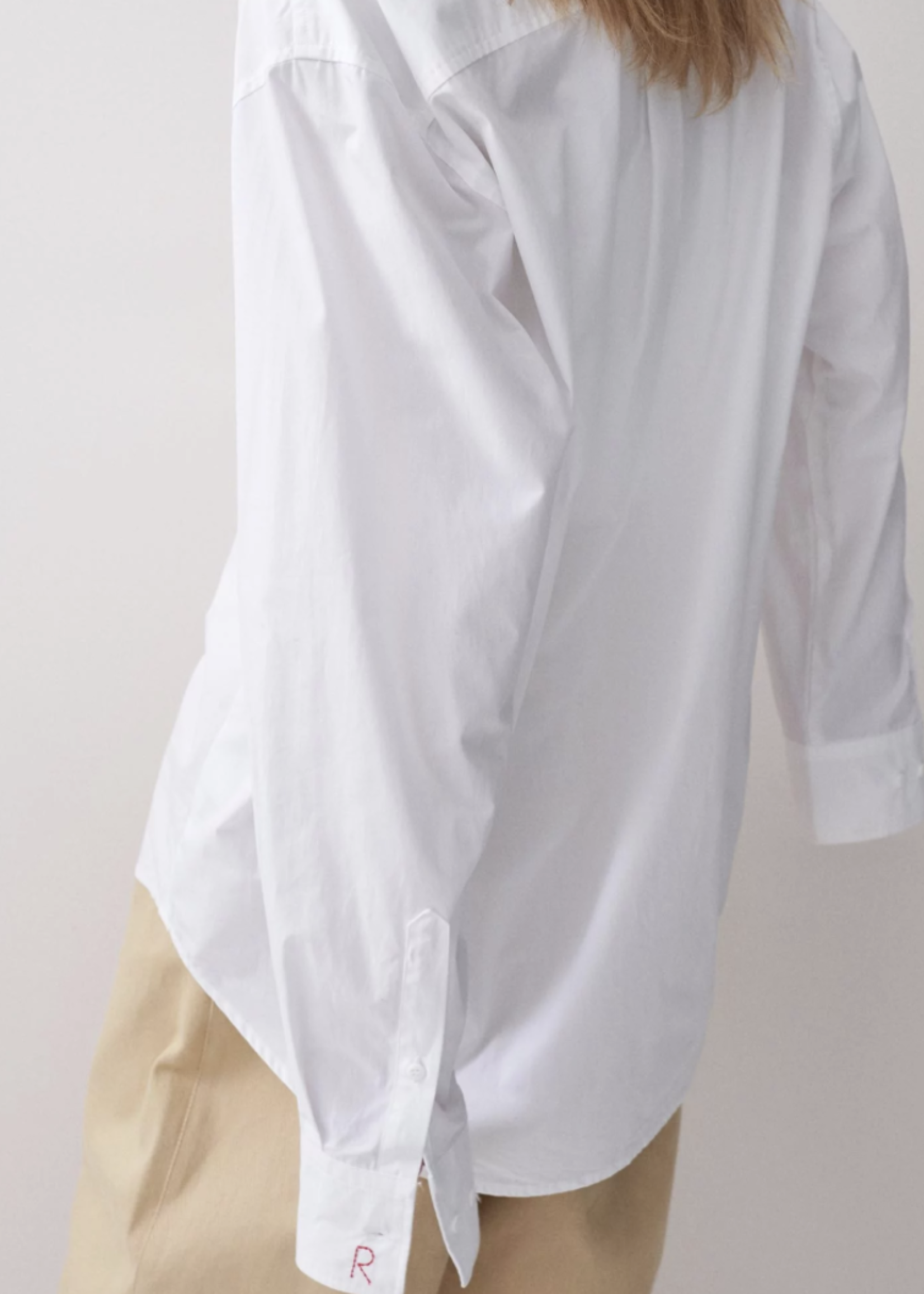 rikastudios rikastudios blaze shirt white