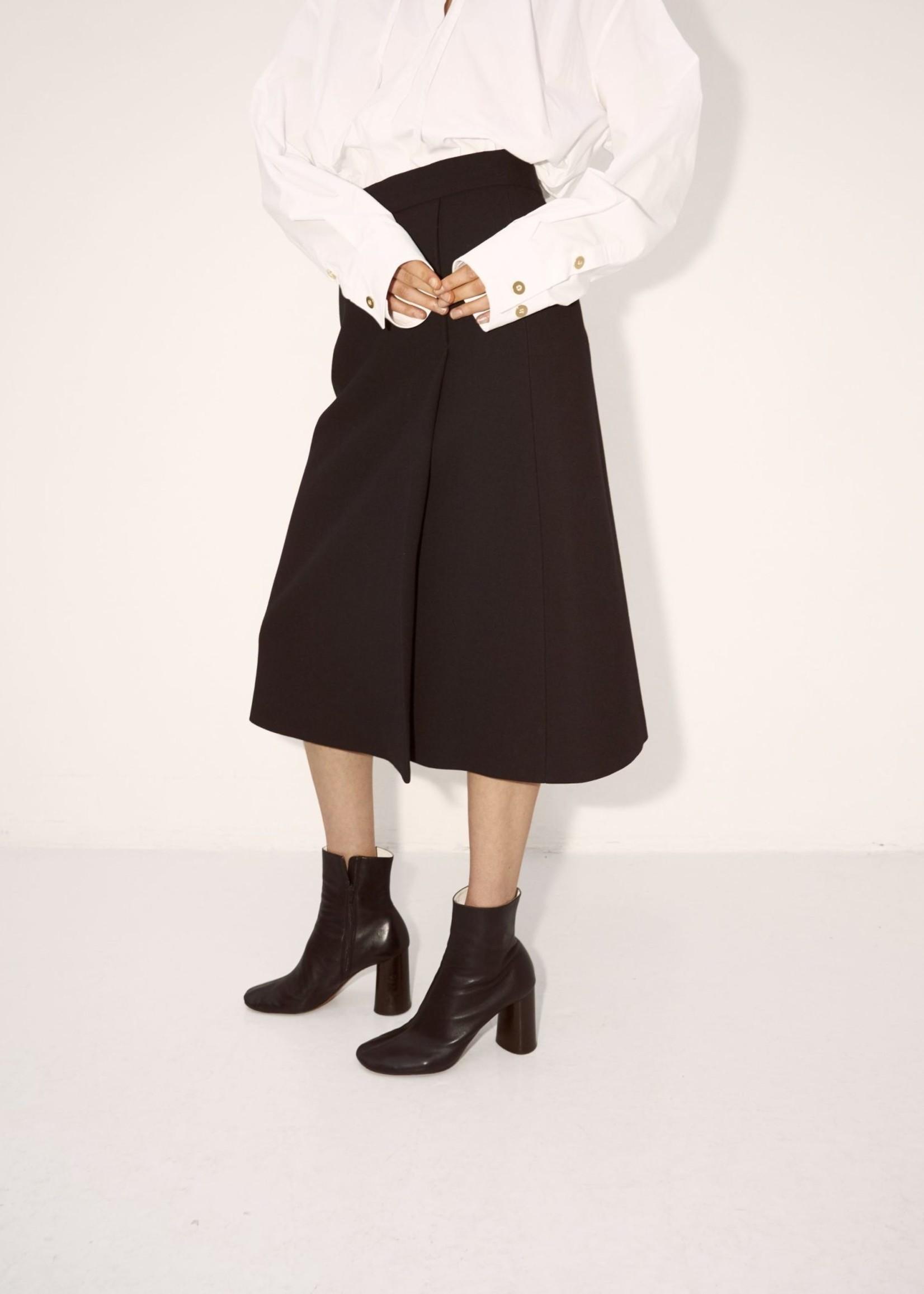 rikastudios rika studios beaton skirt wool black