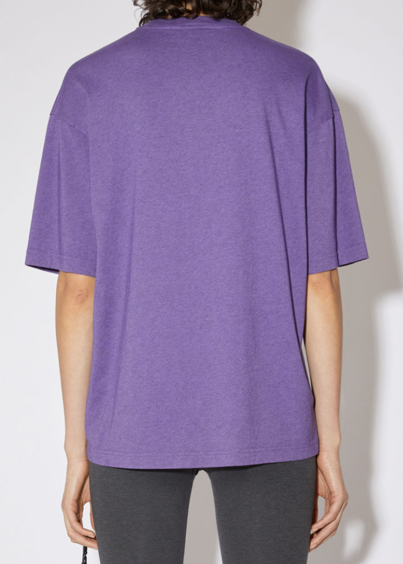 Acne Studios Acne Studios relaxed fit t-shirt electric purple