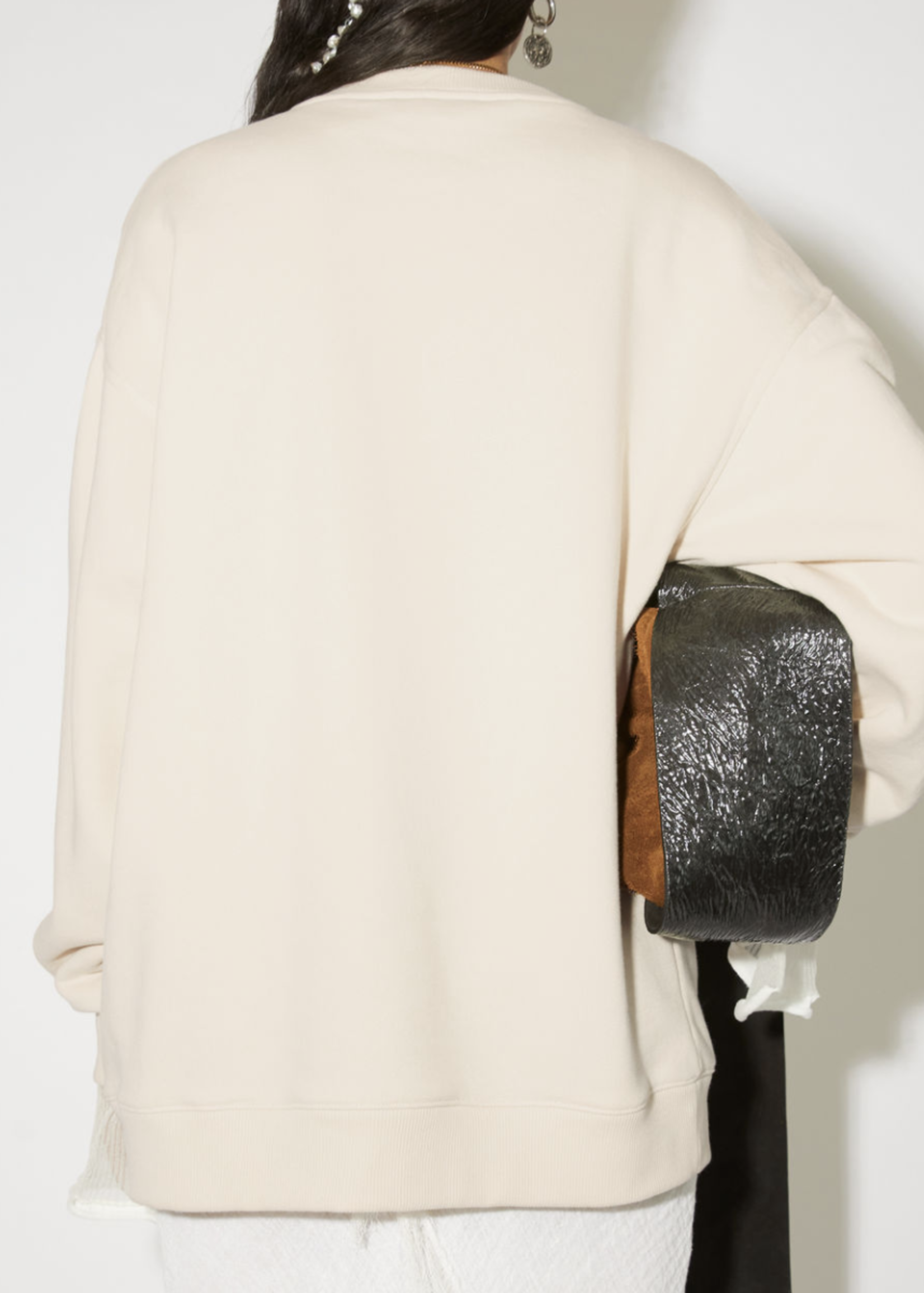 Acne Studios acnestudiosfiena embroided coconut white